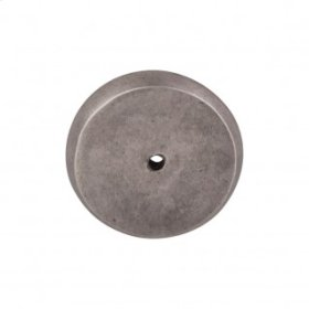 Aspen Round Backplate 1 3/4 Inch - Silicon Bronze Light