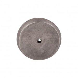 Aspen Round Backplate 1 3/4 Inch - Silicon Bronze Light