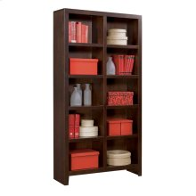 "77"" Cube plus Bookcase"