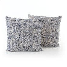 Square Style Faded Mosaic Print Pillow, Set of 2