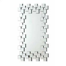 Contemporary Frameless Clear Mirror
