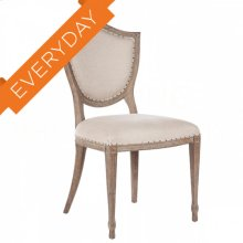 Shield Upholstered Back Dining Chair
