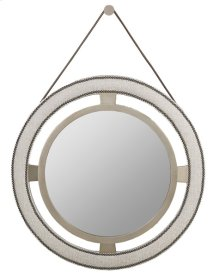 Robineau Road Upholstered Round Mirror 9400-MI
