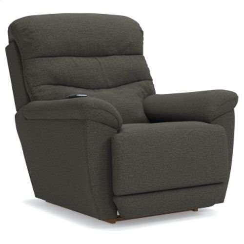 Joshua Power Rocking Recliner w/ Head Rest & Lumbar