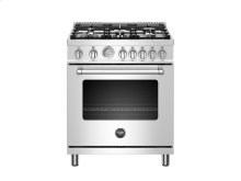 30 inch 5-Burner, Gas Oven Stainless