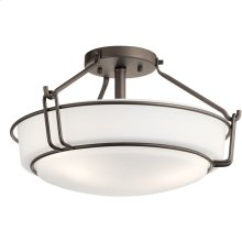 Alkire 3 Light Semi Flush Olde Bronze®