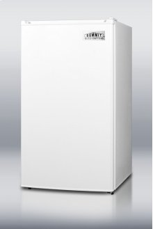 Compact Refrigerator-freezer With Ada Compliant Counter Height; Auto Defrost and White Exterior