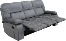 Manual Triple Reclining Sofa