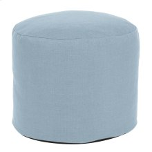 Tall Pouf Sterling Breeze