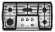Gold® 36-inch Gas Cooktop with 17,000 BTU Flex Power Burner