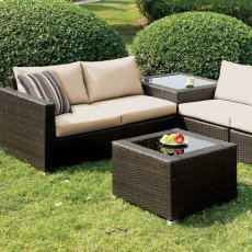 Alago Patio Sectional Set Product Image