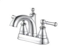 Polished Chrome Autry Centerset Bath Faucet