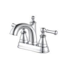 Polished Chrome Autry Centerset Bath Faucet