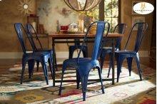 Metal Chair, Blue