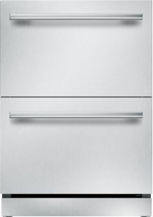 24 inch UNDER-COUNTER DOUBLE DRAWER REFRIGERATOR T24UR910DS