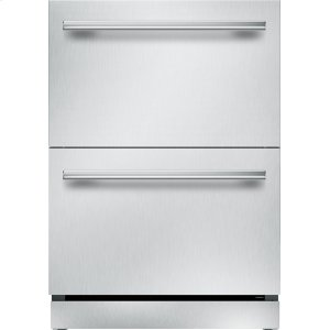 THERMADOR24 inch UNDER-COUNTER DOUBLE DRAWER REFRIGERATOR T24UR910DS