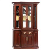 "51"" Queen Victoria Canted Hutch & Buffet Product Image"