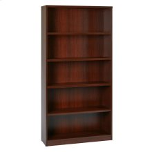 "36wx12dx72h 5-shelf Bookcase With 1"" Thick Shelves -"