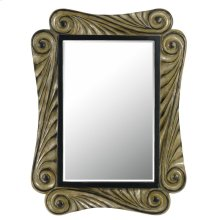 CAPRI RECTANGULAR PU BEVELED MIRROR