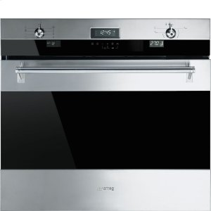"Smeg76CM (30"") ""Classic"" Electric Multifunction Oven Stainless Steel"