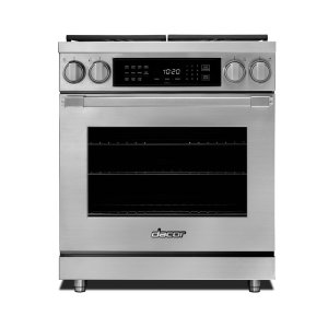 "DACOR30"" Heritage Dual Fuel Pro Range-SS Natural Gas"