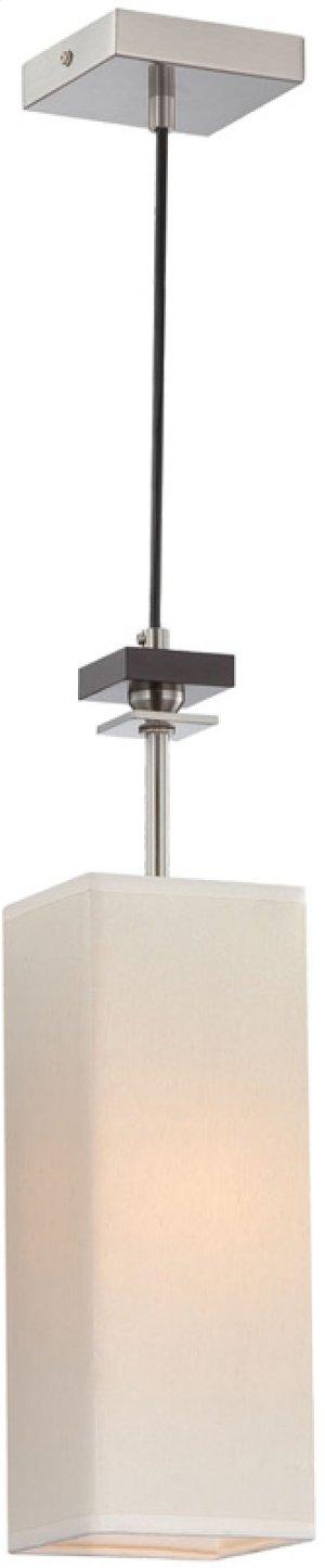 Pendant Lamp, Ps/wood/off-white Fabric Shade, E12 B 40w