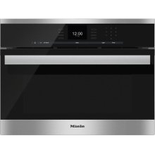 DGC 6600-1 Steam oven with full-fledged oven function and XL cavity combines two cooking techniques - steam and convection.
