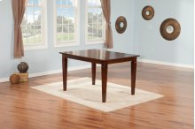 Montego Bay Dining Table 36x60 Walnut