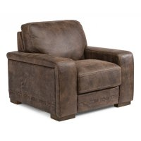 Buxton Leather Chair Product Image
