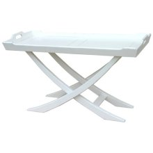 Chedi Coffee Table - Wht