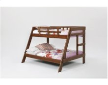 Heartland A-Frame Bunk Bed with options: Chocolate, Twin over Full