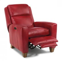Dion Leather Power High-Leg Recliner with Power Headrest