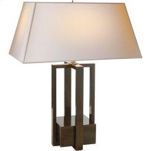 Visual Comfort AH3044GM-NP Alexa Hampton Ingrid 31 inch 60 watt Gun Metal Decorative Table Lamp Portable Light