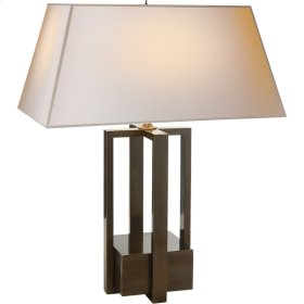 Visual Comfort AH3044GM-NP Alexa Hampton Ingrid 31 inch 60 watt Gun Metal with Wax Decorative Table Lamp Portable Light