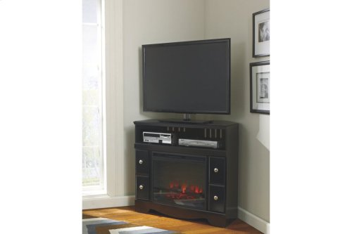 Corner TV Stand/Fireplace OPT