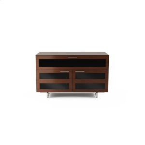 Bdi FurnitureDouble Width Cabinet 8928 in Chocolate Stained Walnut