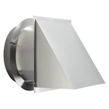 """12"""" Wall Cap Aluminum"""