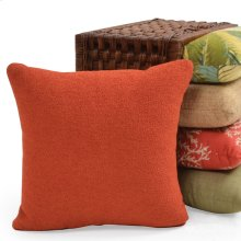 Outdoor Two Tone Throw Pillow