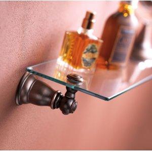 Kingsley wrought iron vanity shelf