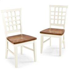 Arlington Lattice Back Side Chair