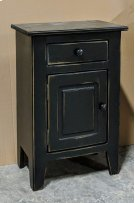 Small Nightstand - Vintage Black Product Image