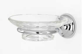Royale Soap Holder A6630 - Polished Chrome