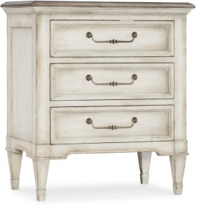 Arabella Three-Drawer Nightstand