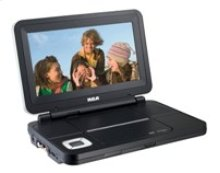 "Portable DVD Player with 9"" Screen"