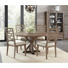 Mirabelle - Round Dining Table - Ecru Finish