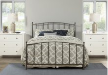 Warwick Twin Bed Set Without Rails (gray Bronze)