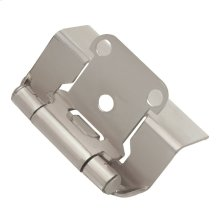 Semi-Concealed Full Wrap Hinge (2-Pack)