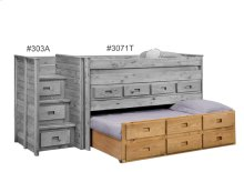 Twin Three Drawer Trundle Unit