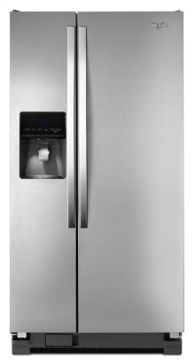 ( FLOOR LOANER MODEL) 33-inch Wide Side-by-Side Refrigerator with Water Dispenser - 21 cu. ft.