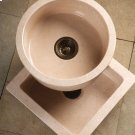 Entertainment Sinks Beige Granite / Round Prep Sink Product Image